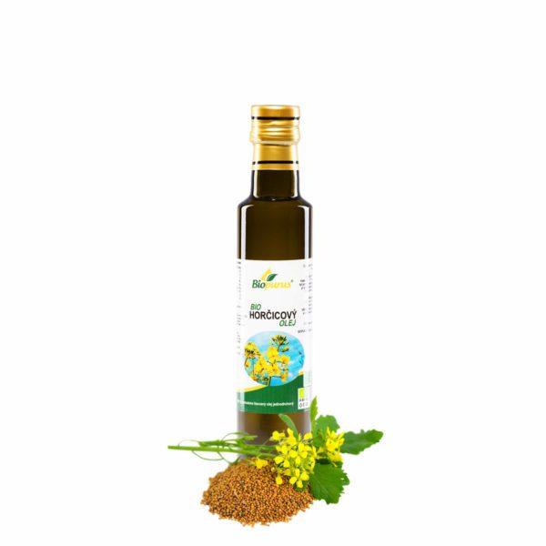 Horčičný olej 250 ml BIO Biopurus