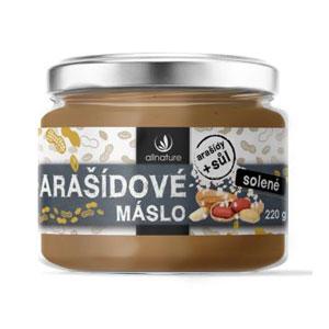 Arašidové maslo solené 220g