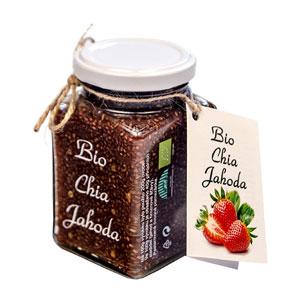 Lahôdka ovocná Jahoda Chia BIO 260g