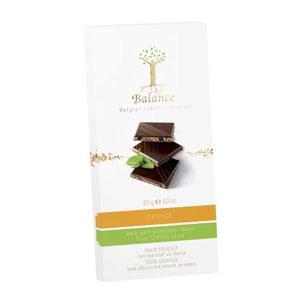 Čokoláda Balance horká pomaranč DIA 85g