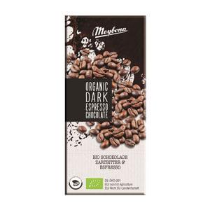 Čokoláda horká s kávovými zrnami 52% BIO 100g