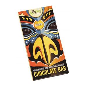 Čokoláda horká s kešu BIO RAW 70g