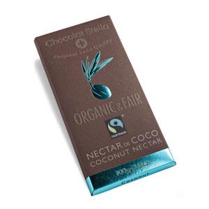 Čokoláda horká s kokosovým mliekom BIO 100g