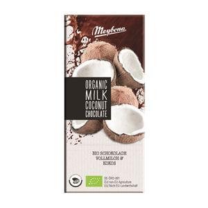 Čokoláda mliečna s kokosovými lupienkami 35% BIO 100g