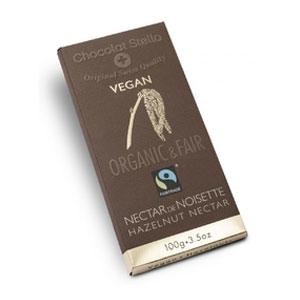 Čokoláda s lieskovými orechmi 43% vegan BIO 100g