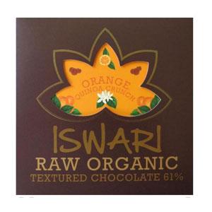 Čokoláda tvarovaná 61% Orange Quinoa BIO RAW 75g
