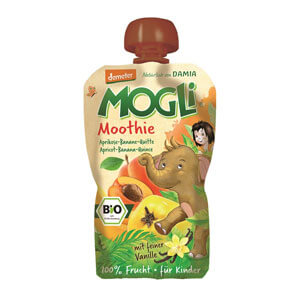 Moothie marhuľa banán dula bez cukru BIO 100g