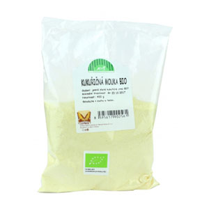 Múka kukuričná jemne mletá BIO 400g