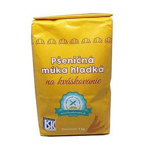 Múka pšeničná hladká na kváskovanie (žltá) 1000g