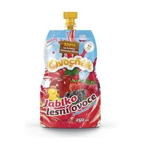 Šťava 100% Jablko Lesné ovocie 250ml