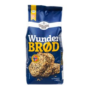 Zmes na chlieb semienková Wunderbrod bezgluténová BIO 600g