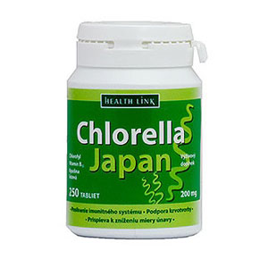 Chlorella Japan 250tbl