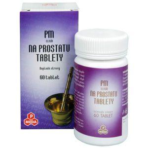 PM - elixír na prostatu 60 tbl