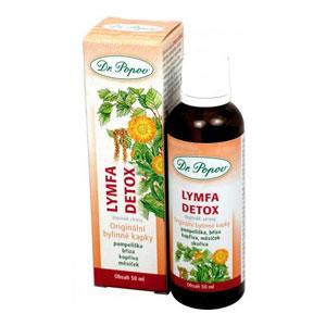 Kvapky bylinné Lymfa detox 50ml
