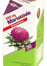 Ostropestrec mariánsky 250 mg 30 cps